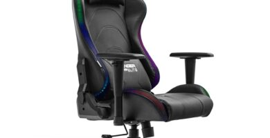 silla gaming Woxter Stinger Station Elite RGB
